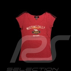 T-shirt 64 Mustang Sally Style Vintage rose - femme