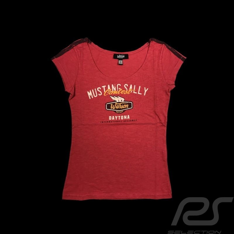 64 Mustang sally T-shirt Vintage design pink - women