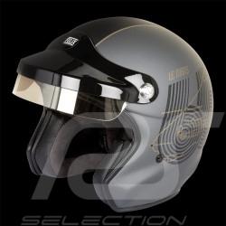 Casque Le Mans 66 gris quartz / noir mat helmet helm