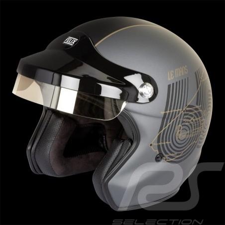 Helmet Le Mans 66 quartz grey / matte black