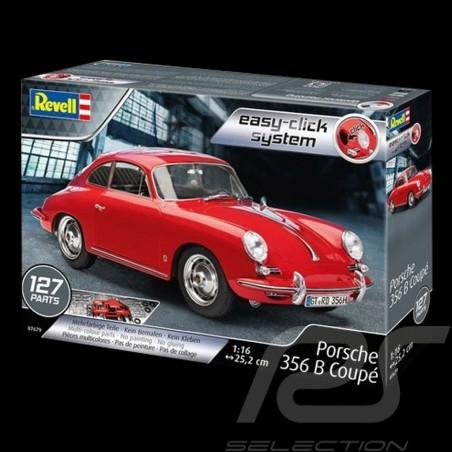 Kit kleberfreie Montage Porsche 356 B 1959 rot 1/16 Revell 07679