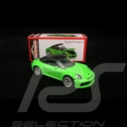 Porsche 911 Carrera S Type 991 Cabriolet Grün 1/59 Majorette 212053153