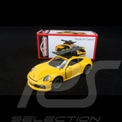 Porsche 911 Carrera S type 991 Jaune 1/59 Majorette 212053153