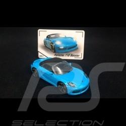 Porsche 718 Boxster Bleu Miami 1/59 Majorette 212053057