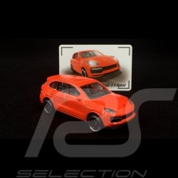 Porsche Cayenne Turbo S E-Hybrid Orange 1/64 Majorette 212053057Q03