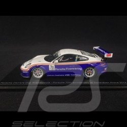 Porsche 911 GT3 Cup typ 991 n° 70 Rothmans Porsche Carrera Cup Scandinavia Gellerasen Arena 2018 1/43 Spark S4520