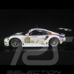 Porsche 911 RSR type 991 n° 93 Brumos 3ème LMGTE Pro Class Le Mans 2019 1/18 Spark 18S436