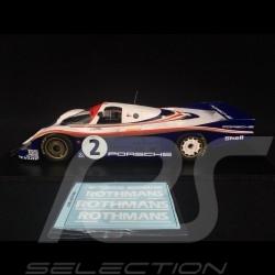 Porsche 956 n° 2 Rothmans 2nd Le Mans 1982 1/18 Spark 18S423