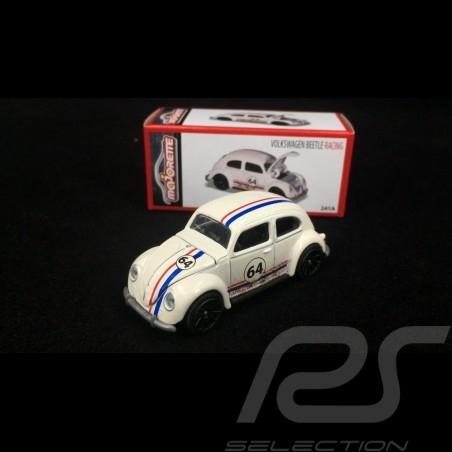VW Coccinelle Kafer n° 64 Beetle Racing 1/57 Majorette 212052016