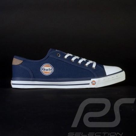 Gulf Sneaker / Basket Schuhe style Converse marineblau - Herren