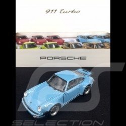 Porsche 911 Turbo 3.0 1975 Gulf blau Spielzeug Reibung Welly