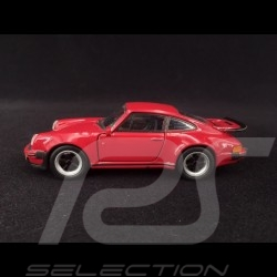 Porsche 911 Turbo 3.0 1975 strawberry pull back toy Welly