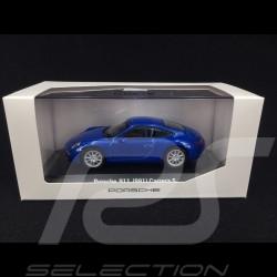 Porsche 991 Carrera S blau 1/43 Welly MAP01994614