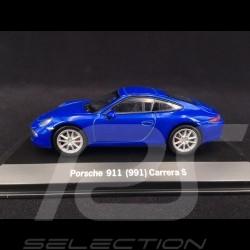 Porsche 991 Carrera S blue 1/43 Welly MAP01994614