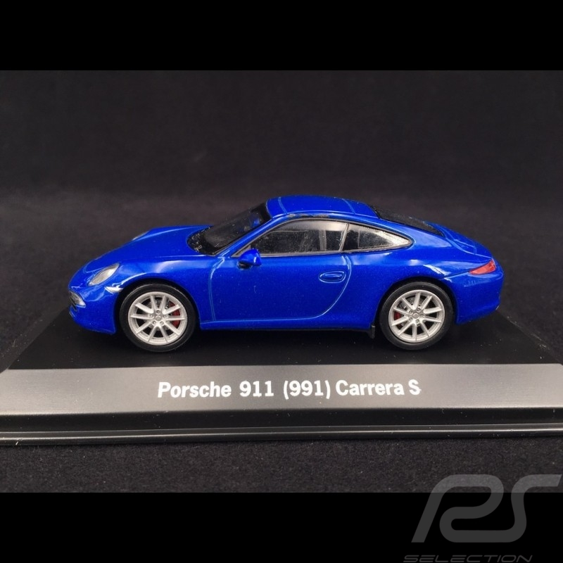 Porsche 991 Carrera S bleue 1/43 Welly MAP01994614