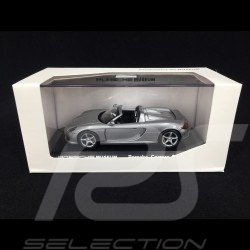 Porsche Carrera GT 2003 grise 1/43 Welly MAP01998013