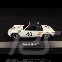 Porsche 914 / 6 Winner Le Mans 1970 n° 40 1/43 Spark MAP02005519