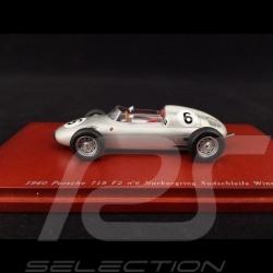 Porsche 718 F2 Nürburgring 1960 n° 6 1/43 Truescale TSM114308