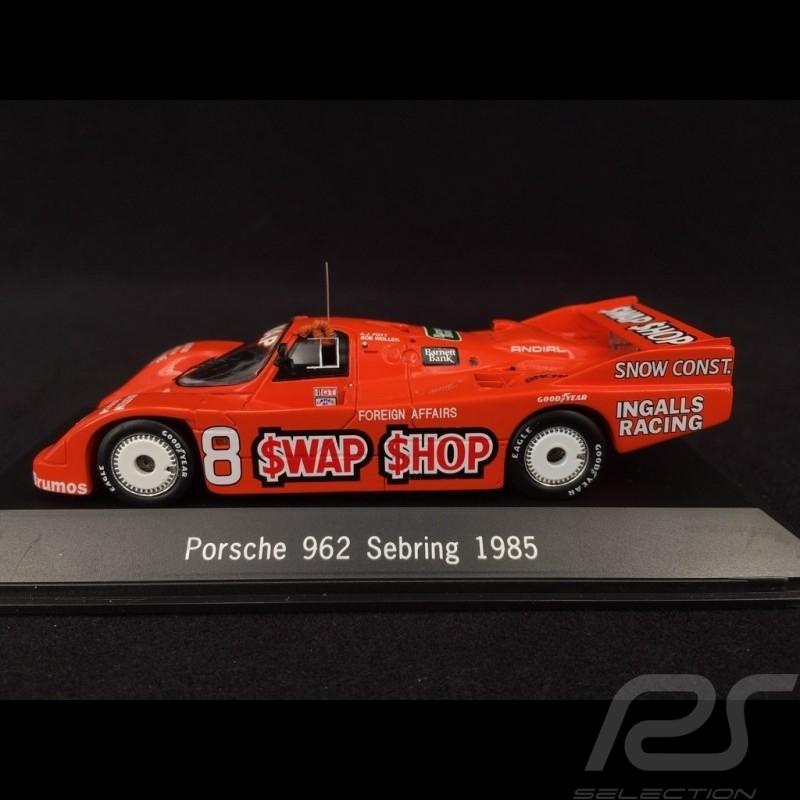 Porsche 962 n° 8 Sebring 1985 1/43 Spark S2989