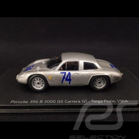 Porsche 356 B 2000 GS Carrera GT Targa Florio 1964 n° 74 1/43 Spark MAP02020314