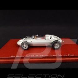 Porsche 718 F2 n° 6 1960 4ème Solitude Grand Prix 1/43 TrueScale TSM114310