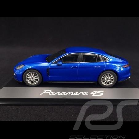 Porsche Panamera 4S Gen II 2016 Sapphire blue 1/43 Herpa WAP0207210G