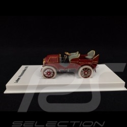 Lohner Porsche Mixte rouge 1901 1/43 MAP02035108