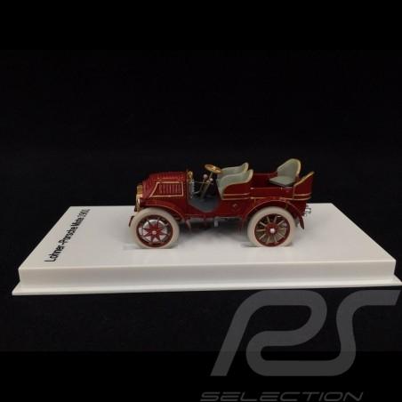 Lohner Porsche Mixte rouge 1901 1/43 MAP02035108