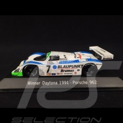Porsche 962 Blaupunkt Winner Daytona 1991 n° 7 1/43 Spark MAP02029114