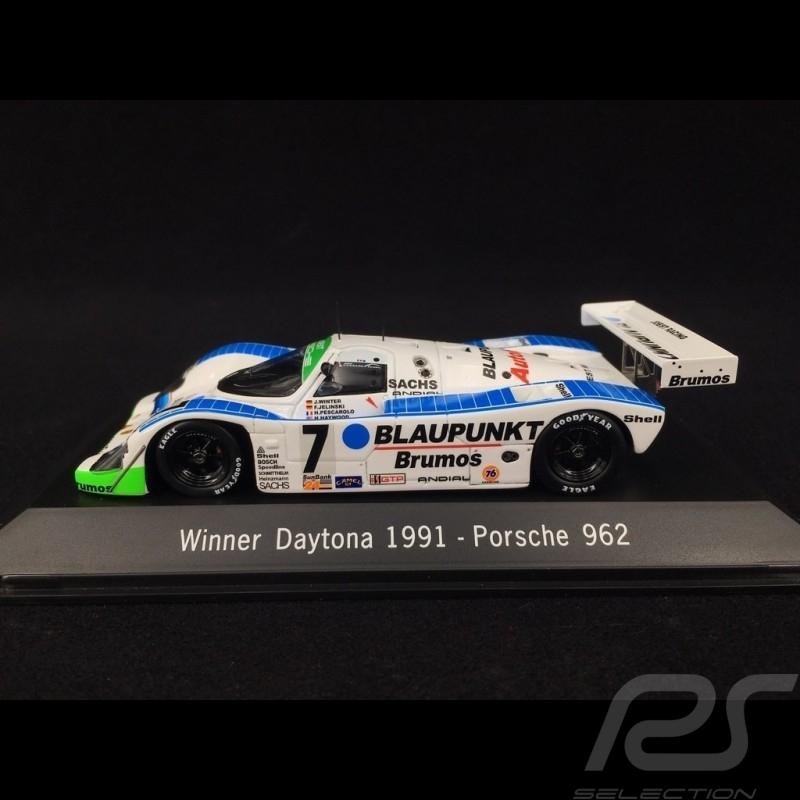 Porsche 962 Blaupunkt Sieger Daytona 1991 n° 7 1/43 Spark MAP02029114