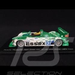 Porsche RS Spyder n° 31 Team Essex Vainqueur de classe  LMP2 Le Mans 2009 1/43 Spark MAP02080008 winner sieger