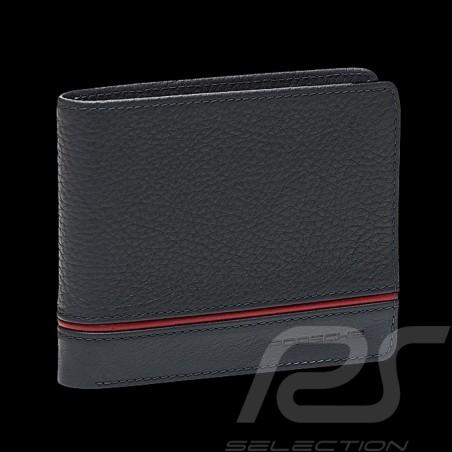 Portefeuille Porsche Porte-cartes Heritage cuir gris anthracite WAP0300360LHRT