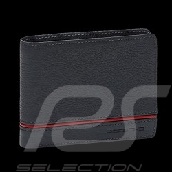 Portefeuille Porsche Porte-cartes Heritage cuir gris anthracite WAP0300350LHRT