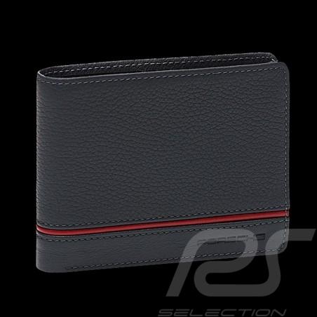 Porsche wallet credit card holder Heritage charcoal grey leather WAP0300350LHRT