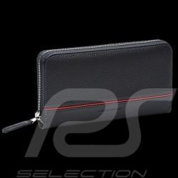 Portefeuille Porsche Porte-monnaie Heritage cuir gris Anthracite WAP0300340LHRT