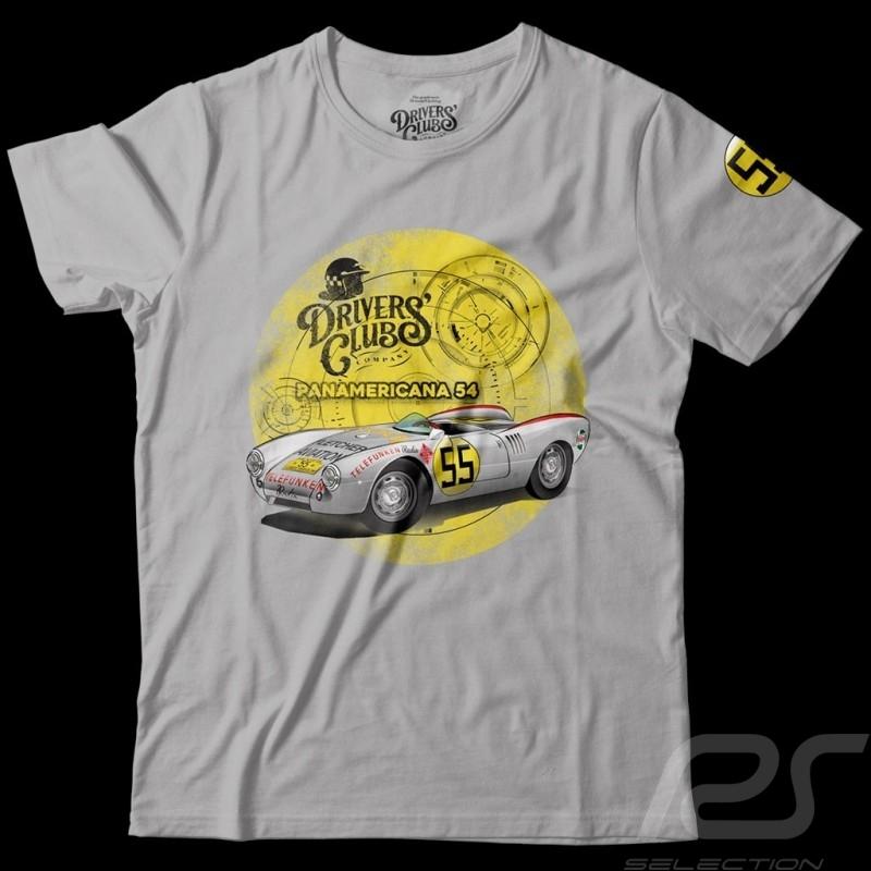 Porsche 550 Panamerica T-shirt Heather grey- men
