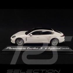 Porsche Panamera Turbo S e-hybrid Executive white 1/43 Herpa WAP0207540H