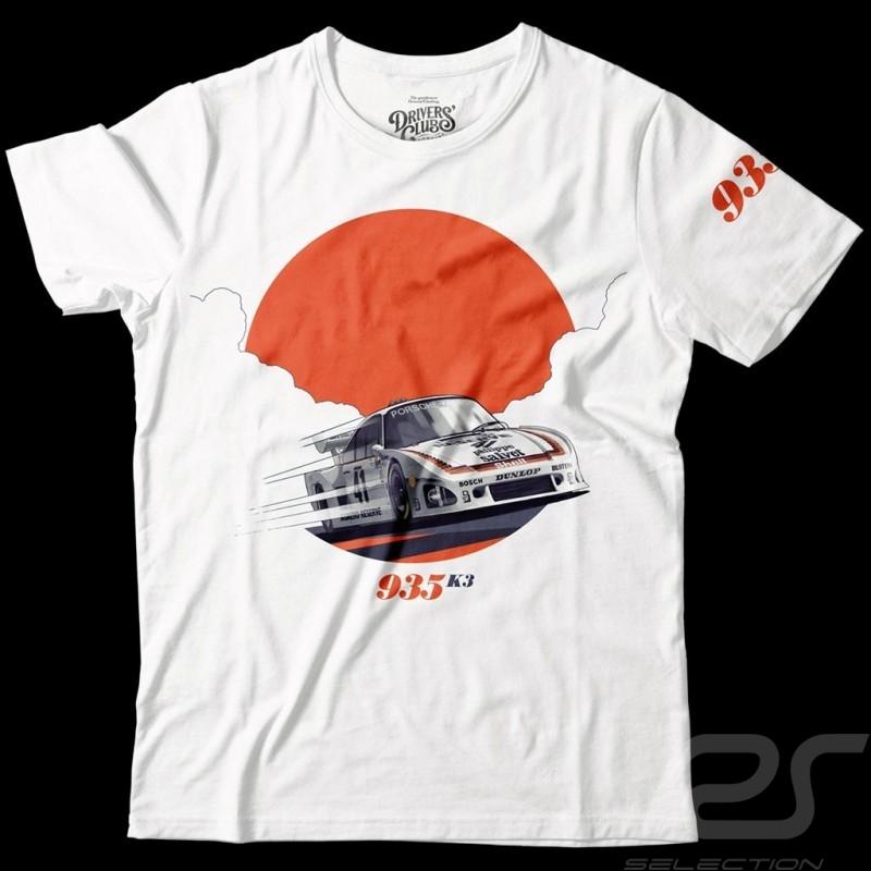 Porsche 935 K3 Le Mans 1979 T-shirt White- men