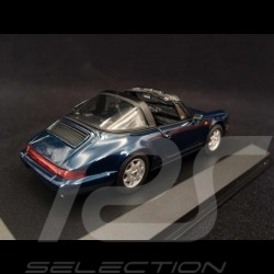 Porsche 911 Carrera 2 Targa type 964 1991 Amazon Green 1/43 Minichamps 940061361