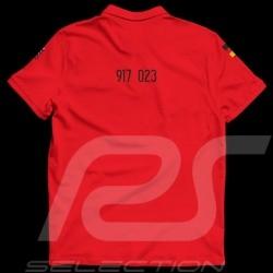 Porsche 917 n° 23 Winner Le Mans 1970 T-shirt Red - men