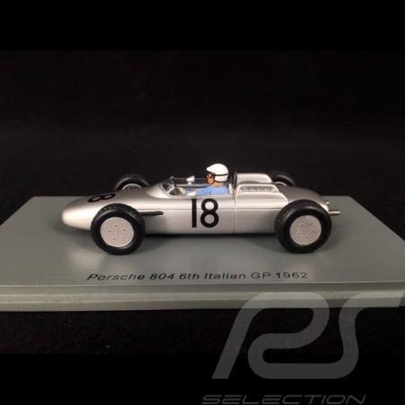 Porsche 804 n° 18 GP Italie de F1 1962 1/43 Spark S7516