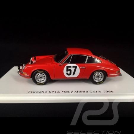 Porsche 911 S Rallye Monte Carlo 1966 n° 57  1/43 Spark S6603