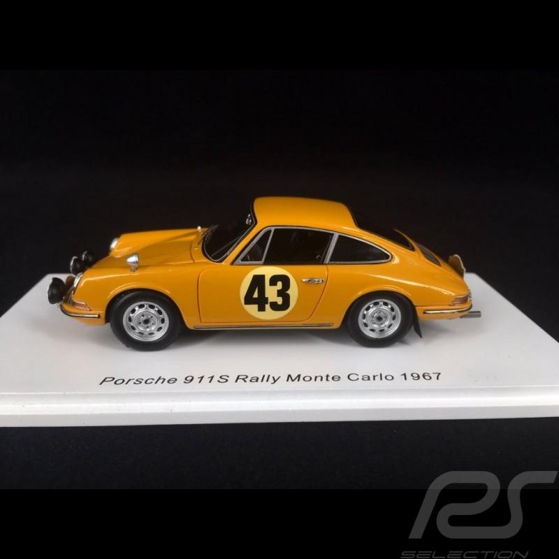 Porsche 911 S Rallye Monte Carlo 1967 n° 43 1/43 Spark S6605