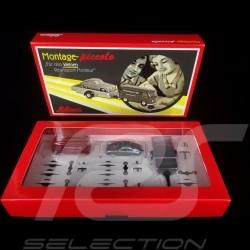 Transporteur Porsche VW T1 Combi avec Porsche 356 / remorque kit à monter 1/87 Schuco 450557900 transporter bulli