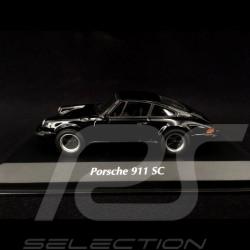 Porsche 911 SC Coupé 1979 Noir Black Schwarz 1/43 Minichamps 940062022