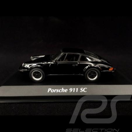 Porsche 911 SC Coupé 1979 Black 1/43 Minichamps 940062022