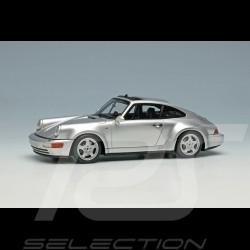 Porsche 911 Carrera 4 type 964 Jubilee 30 years Porsche 911 1993 Polar grey 1/43 Make Up Vision VM191B