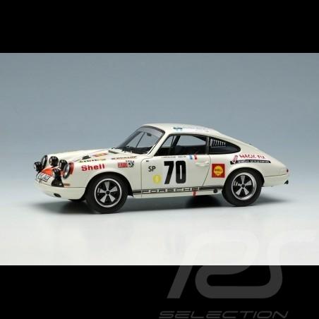 Porsche 911 R Sieger Tour de Corse 1969 n° 70 Larousse 1/43 Make Up Vision MV199