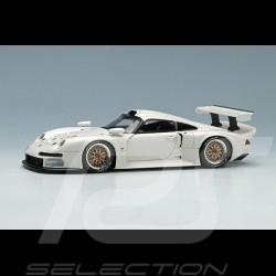 Porsche 911 GT1 1996 Weiß 1/43 Make Up Eidolon EM328C