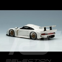 Porsche 911 GT1 1996 White 1/43 Make Up Eidolon EM328C